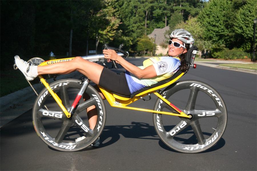 bike, recumbent, position
