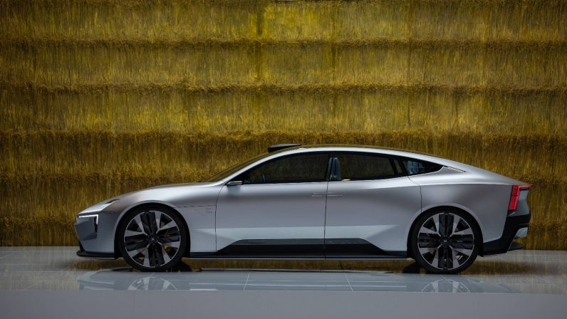 Polestar is actually going to make the Precept, its eco-conscious concept car - the next web