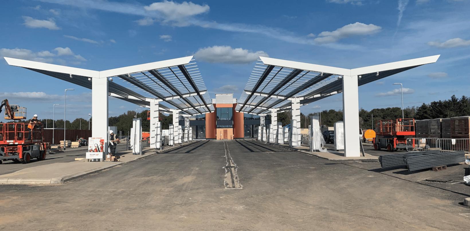 gridserve, ev, charging, motorway