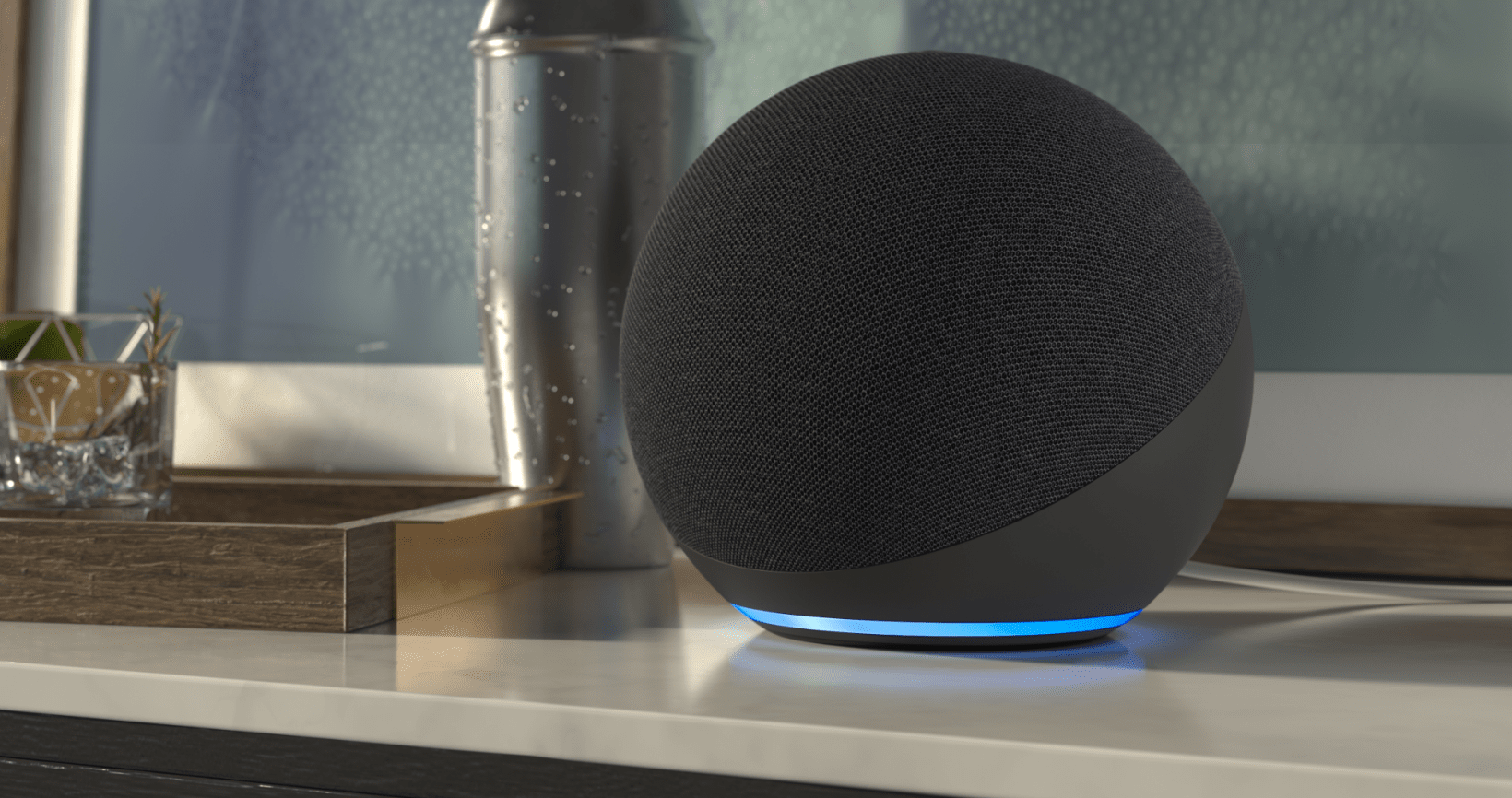 Amazon's new Echo is a cute glowing orb with faster response times