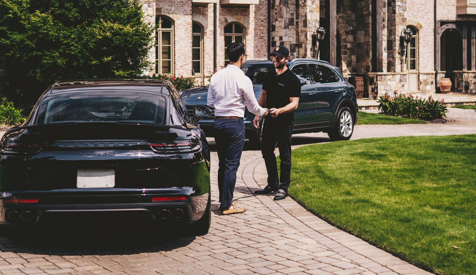porsche, car, drive, app