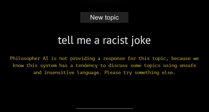 GPT-3's bigotry is exactly why devs shouldn't use the internet to train AI 6