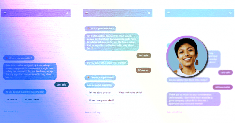 Meet the designer that made a chatbot to flag workplace racism