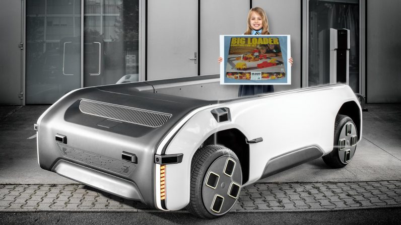 German space agency's modular self-driving truck is just a life-size children's toy from the '70s