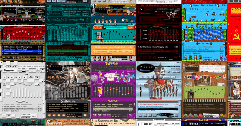 The Winamp Skin Museum is a beautiful homage to an iconic piece of software thumbnail