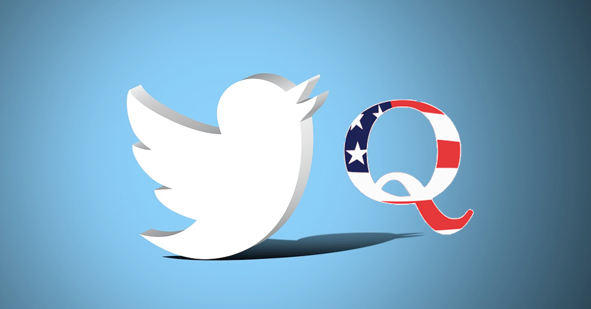 QAnon conspiracy bots are taking over Twitter
