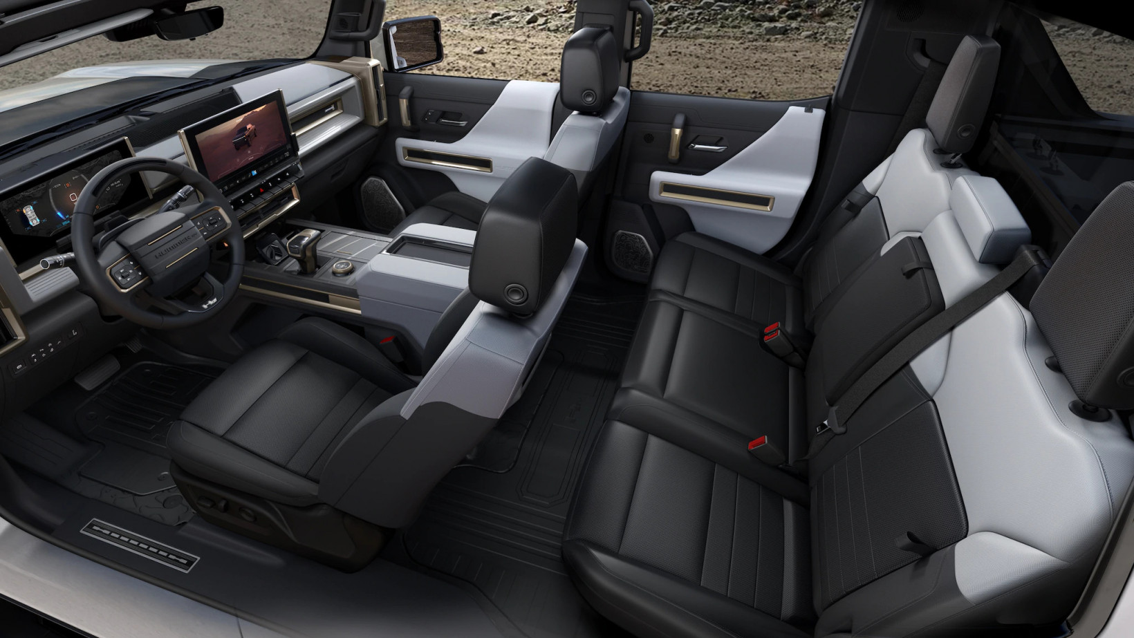 hummer, gmc, ev, future, interior