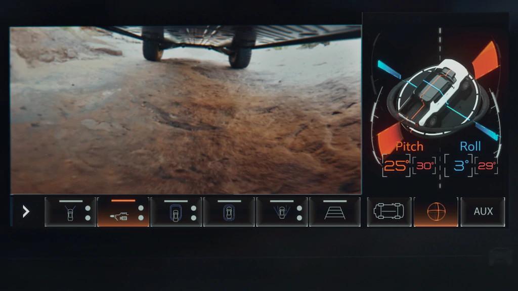 under car camera, ev, hummer