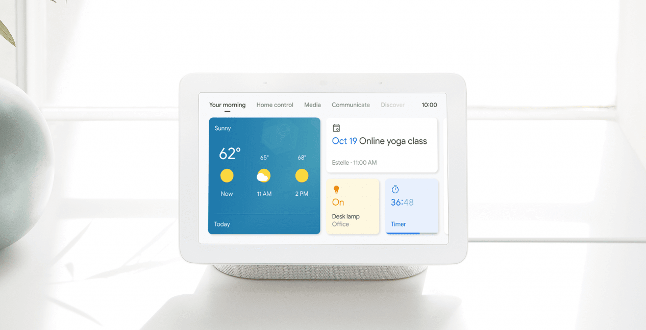Google Assistant displays get a new UI, a dark theme, and more features