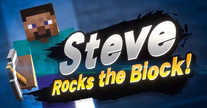 Minecraft comes to Smash Bros… wait, what?