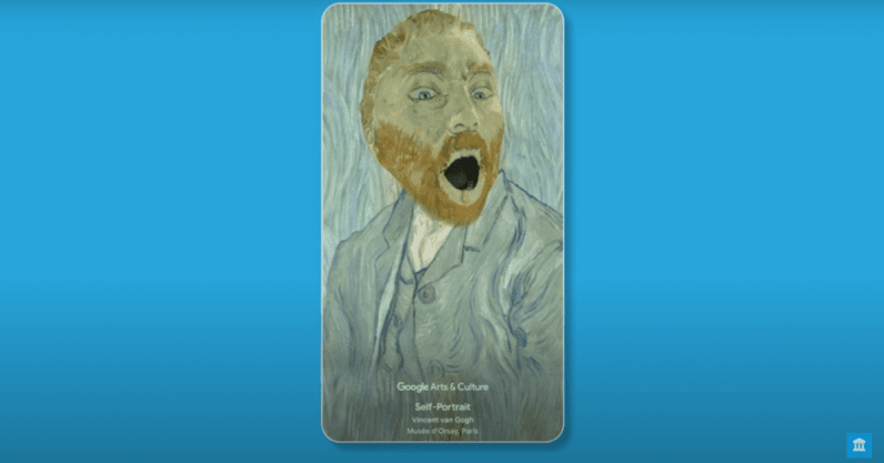 This Google filter transforms you into masterpieces by van Gogh and Frida Kahlo