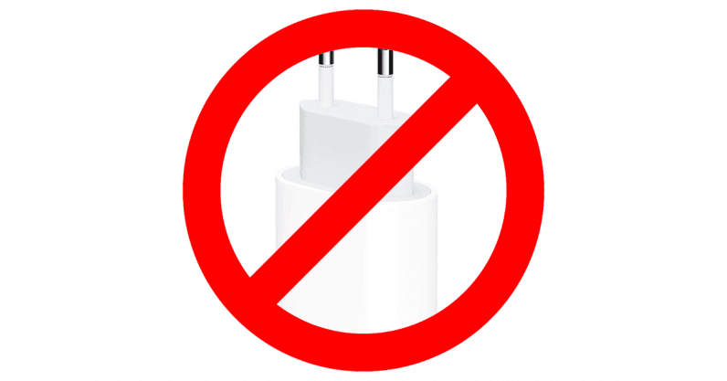 We were right: The iPhone 12 doesn't come with an AC adaptor or earbuds