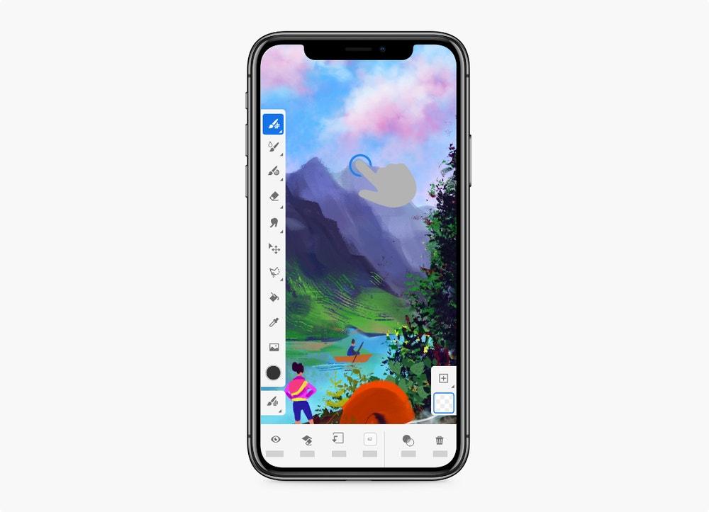 Adobe Fresco for iPhone