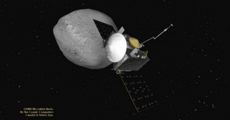 NASA's robot is about to land on asteroid Bennu to unlock the secrets of life