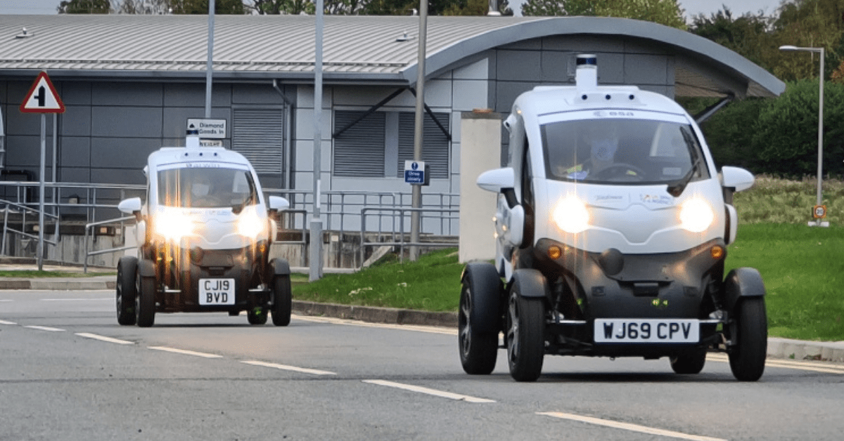 The UK is about to start its first test of 5G-enabled autonomous vehicles