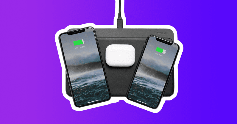 2020 gift guide nomad wireless charger base station pro