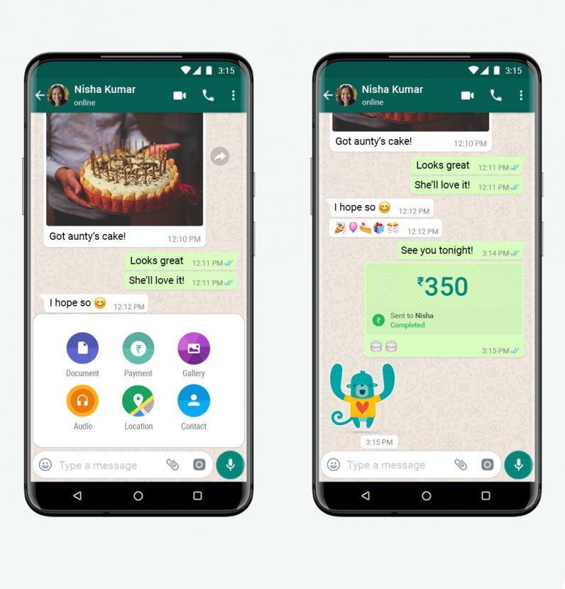 WhatsApp Pay India