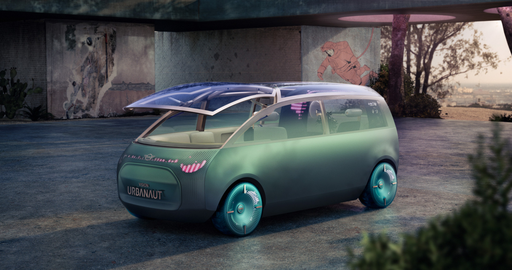 urbanaut, mini, ev, car, mpv, future