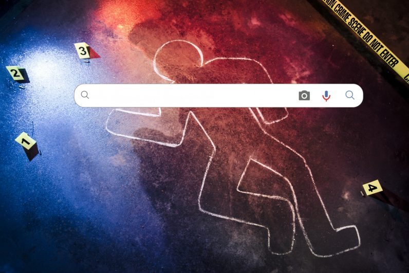 How to build a search engine for criminal data