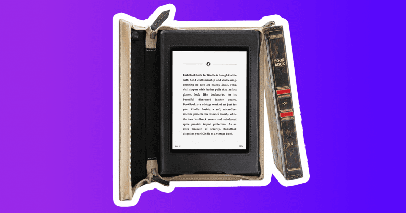 gifts for kindle owners bookbook kindle paperwhite case