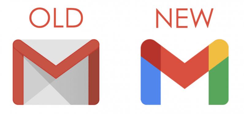 google gmail logo change