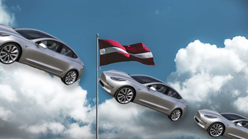 The EU's fastest growing EV market is — surprise! — Latvia!
