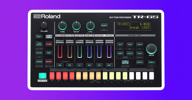 roland TR-6S drum machine cool gift 2020 guide