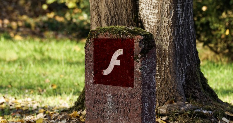 Adobe Flash is going away for real this month