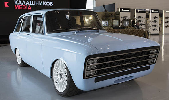 cv-1, mosvich, car, ev, future, kalashnikov