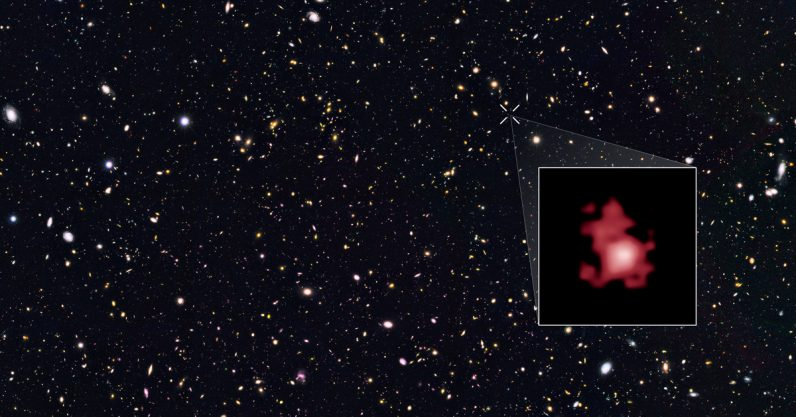 Astronomers just discovered the oldest and most distant galaxy ever