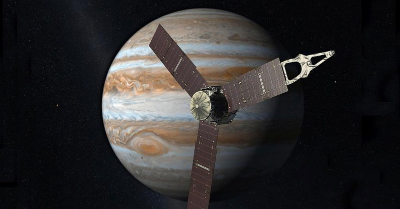 NASA delays Juno spacecraft's retirement after detecting mysterious radio waves - the next web