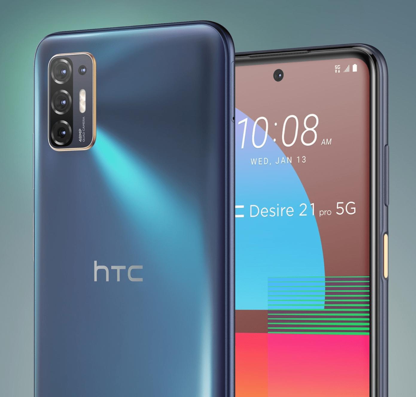 HTC announces the new Desire 21 Pro 5G