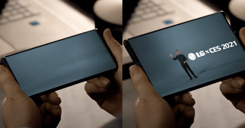 """LG confirms its shape-shifting """"rollable"""" phone arrives this year"""