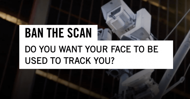 Amnesty International calls for ban on facial recognition - the next web