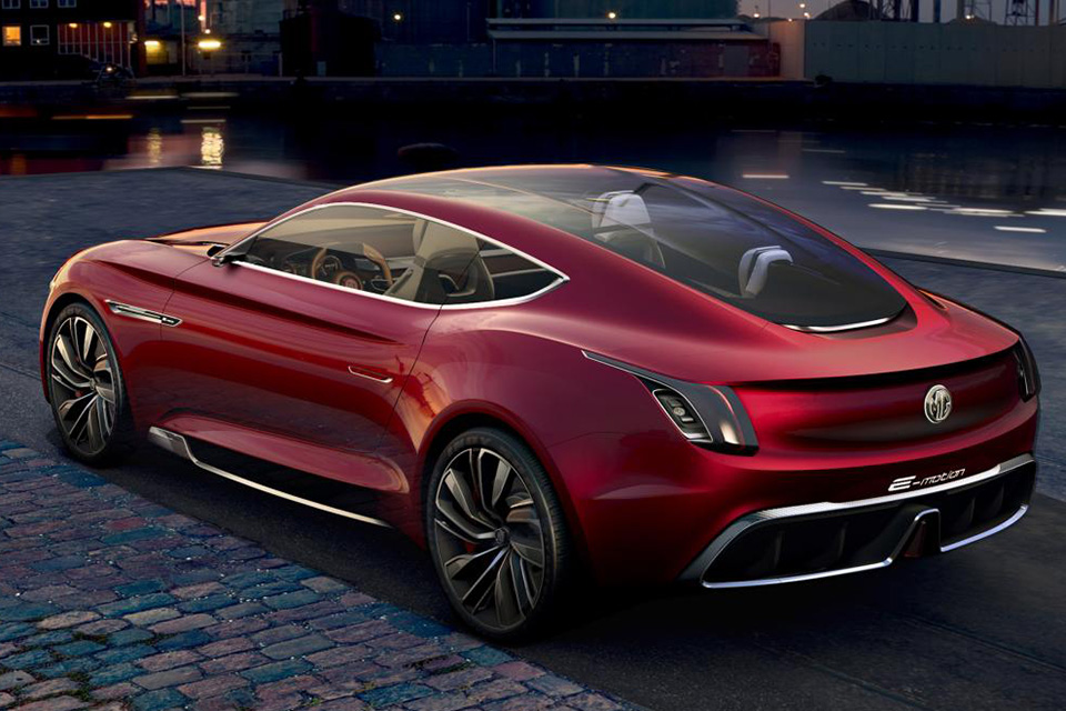 mg, coupe, car, future, electric