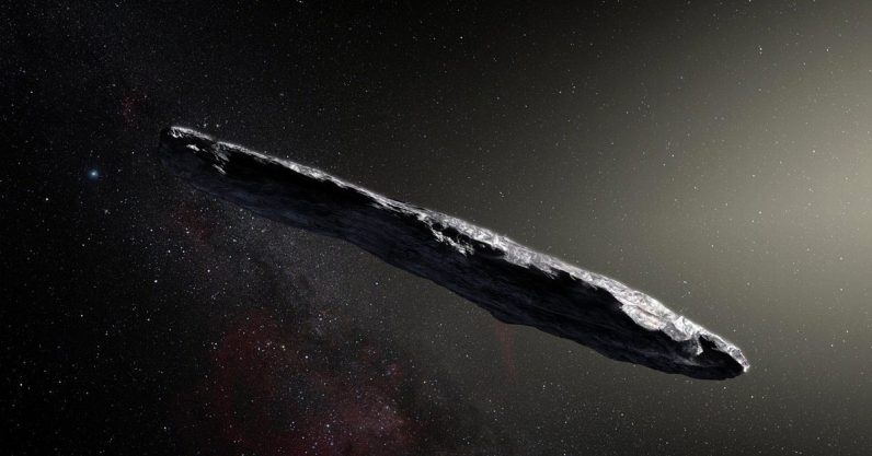 This Harvard professor claims an alien spaceship visited us in 2017