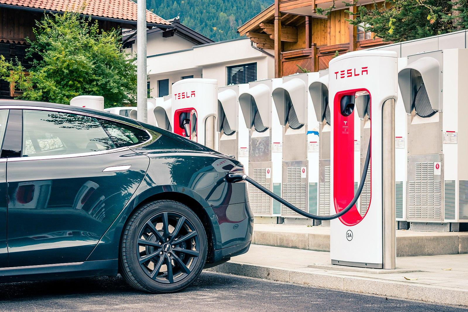 Car, ev, tesla, charging