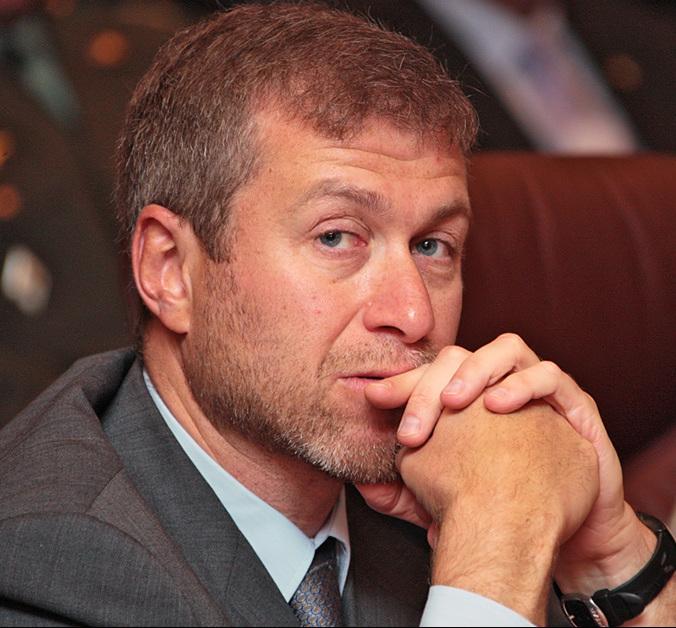 Chelsea Football Club owner oman Abramovich
