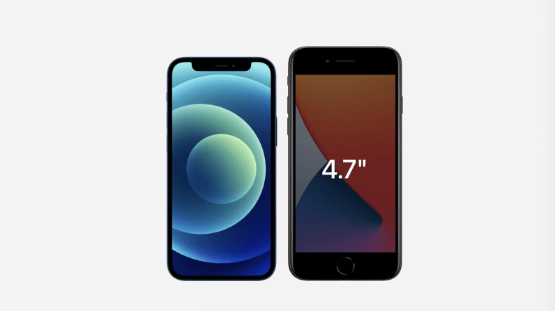 iPhone 12 Mini vs iPhone-SE