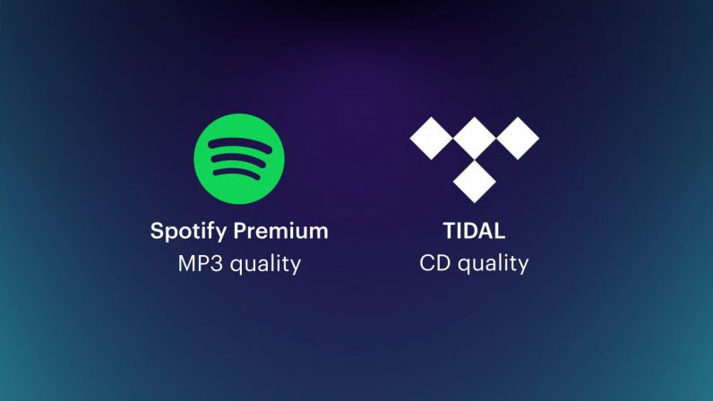 CDs vs streaming services Tidal and Spotify