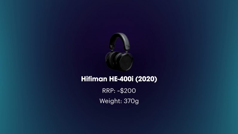Hifiman he-400i open-back planar magnetic weight and price