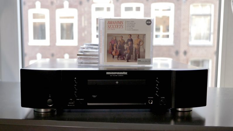 Marantz CD player with Brahms CD6007