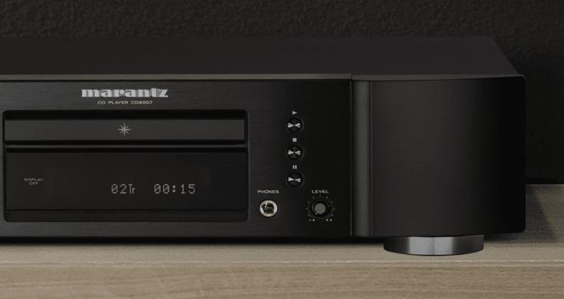 Marantz CD6007 CD player headphone amplifier