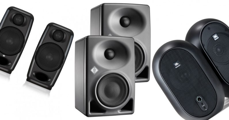 These 3 studio monitors are great speakers for a small desk - the next web