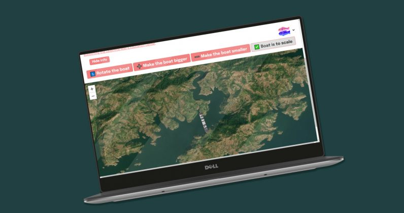 Jam any waterway on the planet with the Ever Given on this interactive map