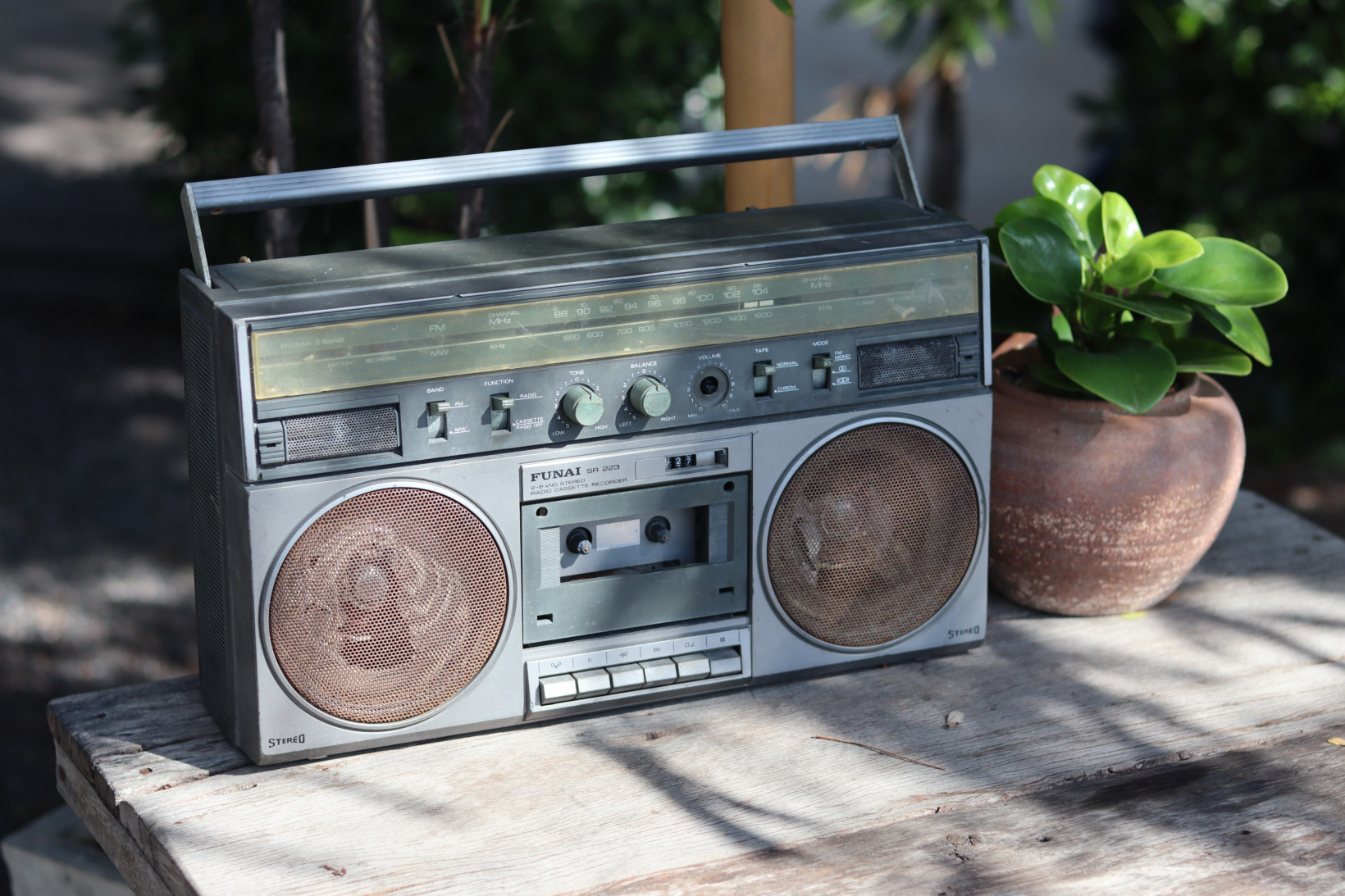 The boombox may now appear fashionably retro – but that won't stop it chewing up the occasional tape.