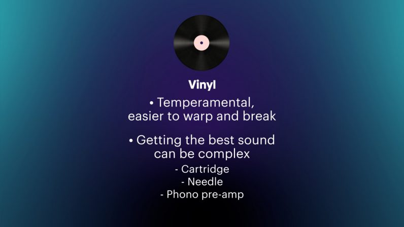 issues with vinyl records