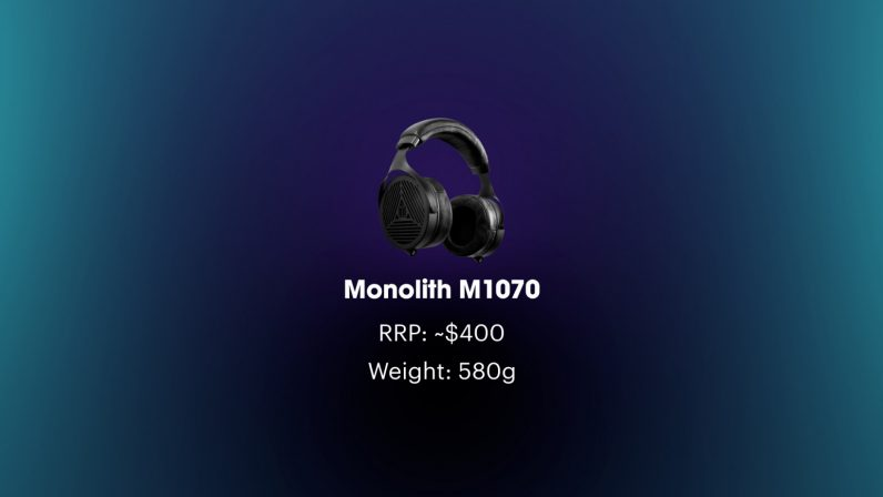 monolith m1070 open-back headphones