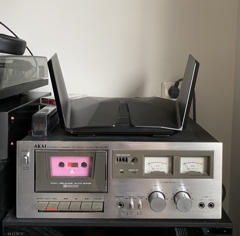 ambient tape deck