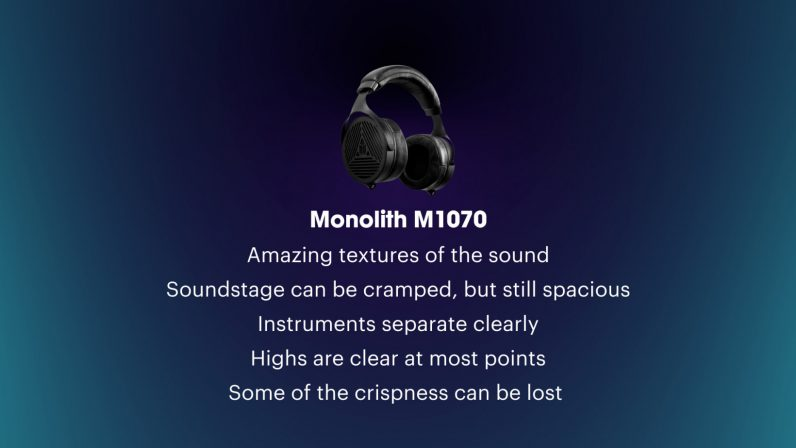 review monoprice monolith m1070 open-back planar magnetic